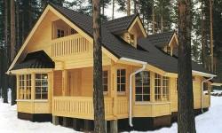 Деревянные дома - строительство под ключ