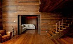 Деревянная отделка дома в Крыму